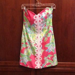 NWT Lilly Pulitzer Angelina Dress Pink Lemonade 4